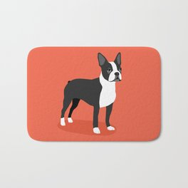 Boston Terrier 2 Bath Mat