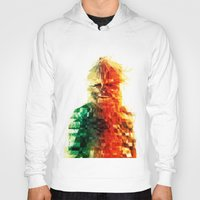 chewbacca Hoodies featuring Chewbacca by Tom Johnson