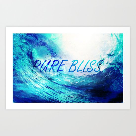 Pure Bliss Art Print