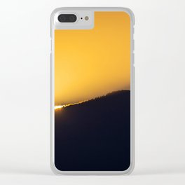 On the Edge of a Breakthrough Clear iPhone Case