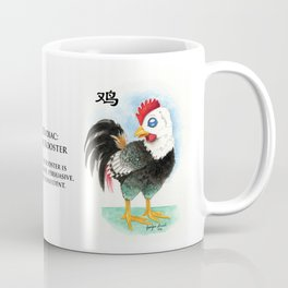Chinese Zodiac Year of the Rooster Coffee Mug