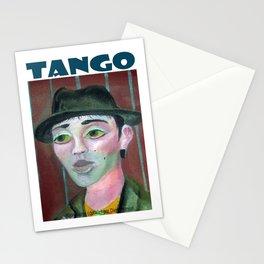 Muchacho tanguero por Diego Manuel Stationery Cards