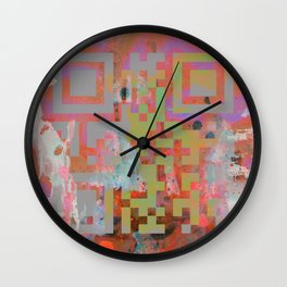 In The Belly Of The Beast Of Consumerism Wall Clock