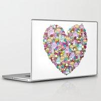 dessert Laptop & iPad Skins featuring Dessert by Julia Emiliani
