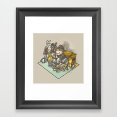 Recessionopoly Framed Art Print