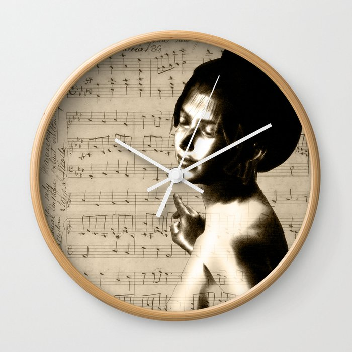 Music Lover National Anthem of New Zealand Wall Clock