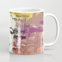 monroe Mugs featuring MONROE by Smart Friend
