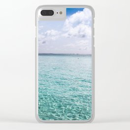 Paraiso Clear iPhone Case