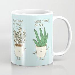 garden etiquette Coffee Mug