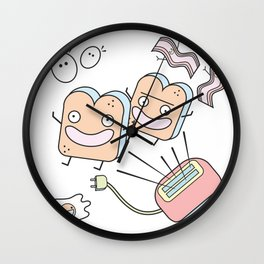 It's Breakfast Time! Wall Clock