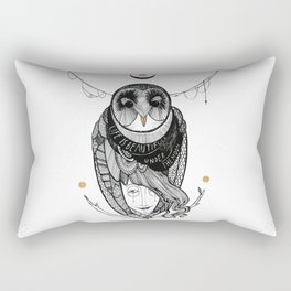bird women Rectangular Pillow