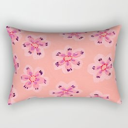 Coral Emily Claire Rectangular Pillow