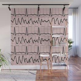Cardiac Rhythm Strips EKG Wall Mural