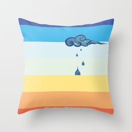 It will stop Throw Pillow