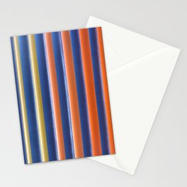 Hot & Cold Stripes Stationery Cards