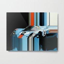 Bluemonday Metal Print