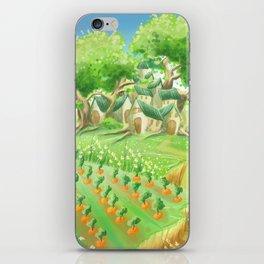 Carotte deluxe, concept art iPhone Skin