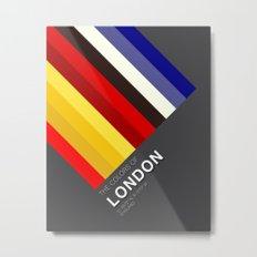Colors of London Metal Print