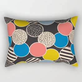 Memphis Inspired Pattern 6 Rectangular Pillow