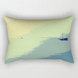 Mediterranean Sea Rectangular Pillow