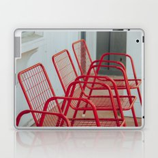 Red Chairs Laptop & iPad Skin