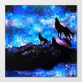 Wolf Trio Canvas Print