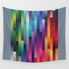 Rainbow Waterfall Wall Tapestry