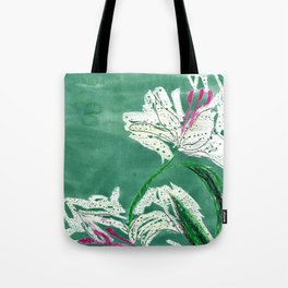 Tiger lily Tote Bag