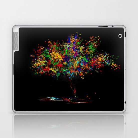 The Most Colorful Tree of the World Laptop & iPad Skin