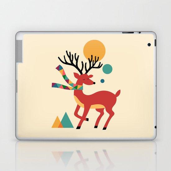 Deer Autumn Laptop & iPad Skin