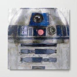 R2D2 Droid Robot StarWars Metal Print