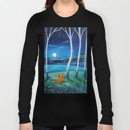 Moon gazers Long Sleeve T-shirt