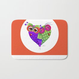 Owl's love Bath Mat