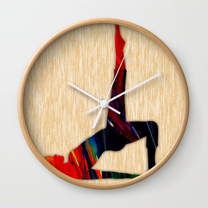 Fitness Wall Clock