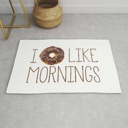 I Donut Like Mornings Rug