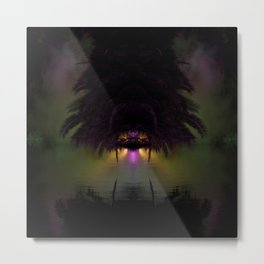 Tropical No Name Metal Print