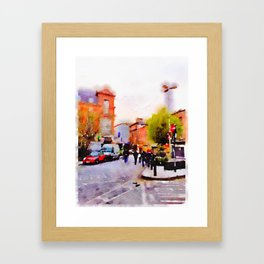 The Partygoers (Soaked Edition) Framed Art Print