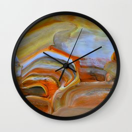 Marble Fantasy Wall Clock