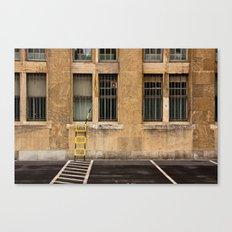 Tempelhof Ladder Canvas Print