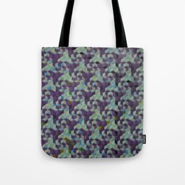 pinwheels and spirals, aqua Tote Bag