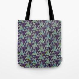 pinwheels and spirals, aqua Tote Bag