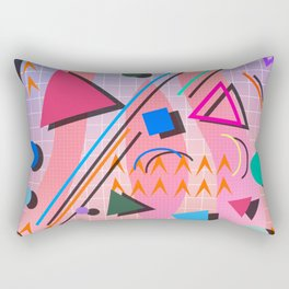 80s pop retro 2 Rectangular Pillow