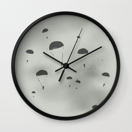 The Paratroopers Wall Clock