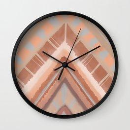 Arrowhead | Earthy Wall Clock