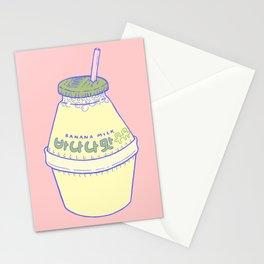 Banana Milk Stationery Cards
