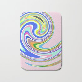 swim in colour Bath Mat