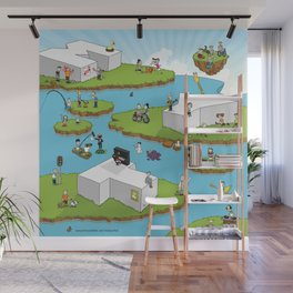 Made You Think Wall Mural