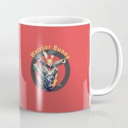 Warrior Bunny Nukem Coffee Mug