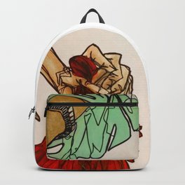 Hands (Breathe in, breathe out) Backpack