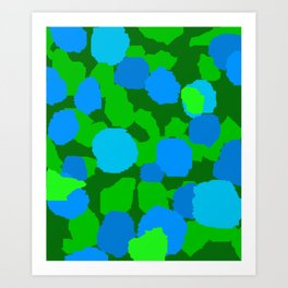 June mosaic Art Print